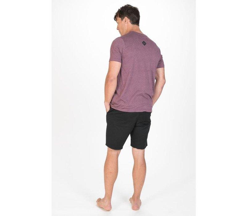 M22 Get Lost Van T-Shirt Heather Maroon