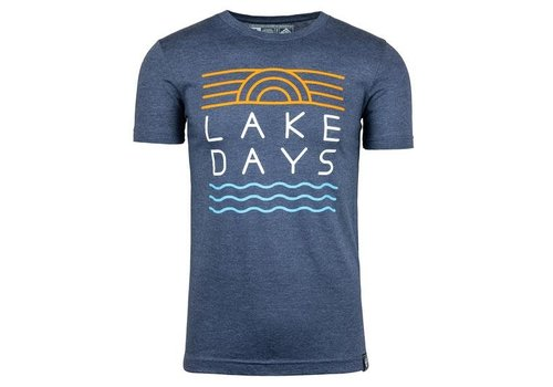 M22 M22 Lake Days T-Shirt Heather Navy