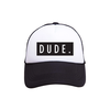 Tiny Trucker Co. Tiny Trucker Youth Dude Hat Black White