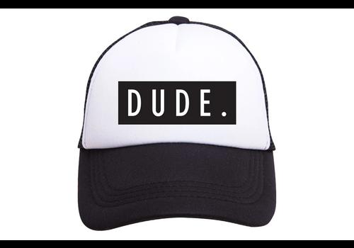 Tiny Trucker Co. Tiny Trucker Youth Dude Hat Black White