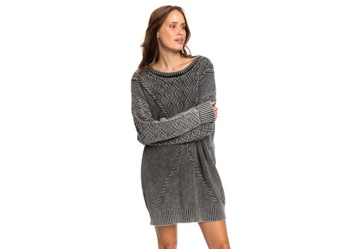 Roxy Roxy Snow Day Dress Anthracite