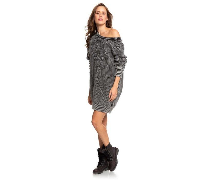 Roxy Snow Day Dress Anthracite