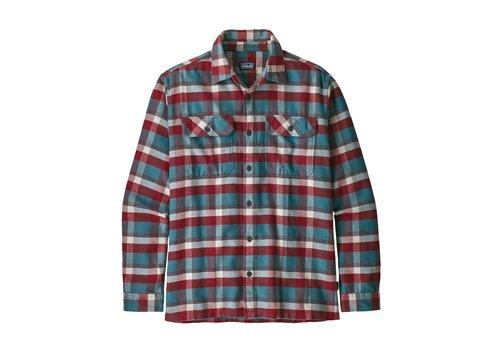Patagonia Patagonia M's L/S Fjord Flannel Shirt Observer Tasmanian Teal