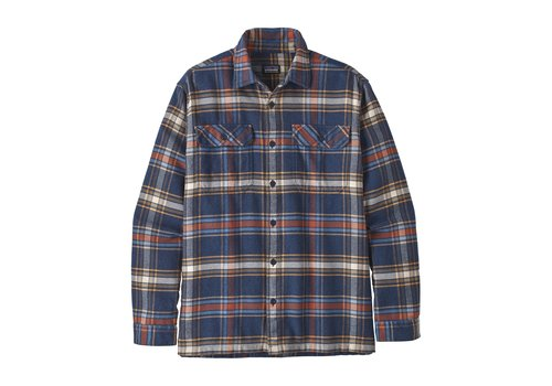 Patagonia Patagonia M's L/S Fjord Flannel Shirt Defender New Navy