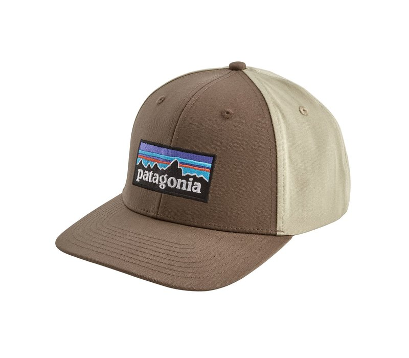 Patagonia P-6 Logo Roger That Hat Burnie Brown