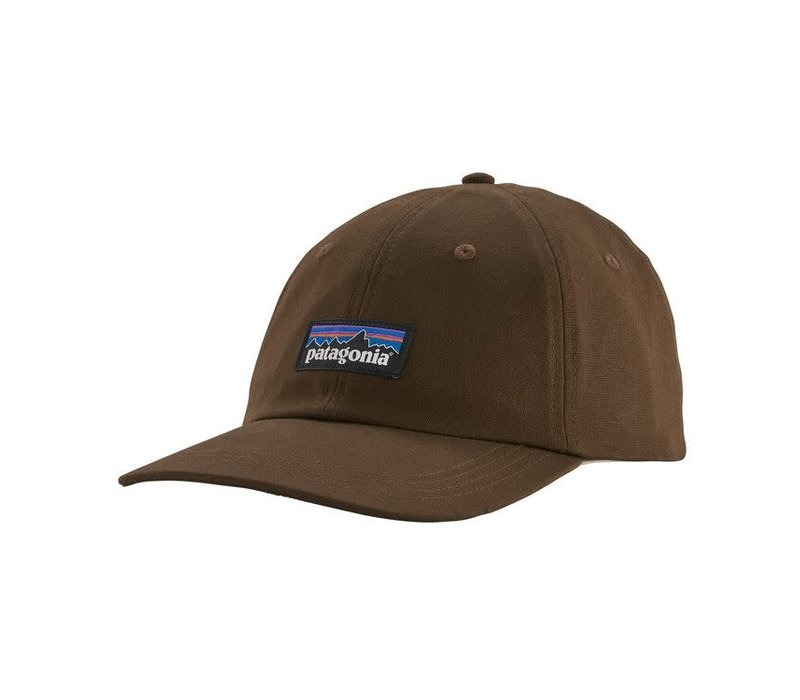 Patagonia P-6 Label Trad Cap Bristle Brown