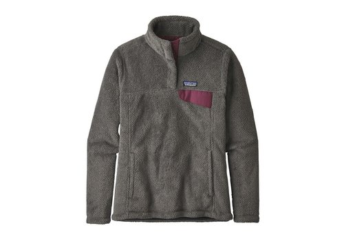 Patagonia Patagonia W's Re-Tool Snap-T Pullover Feather Grey Ink Black XDye w/Light Balsamic