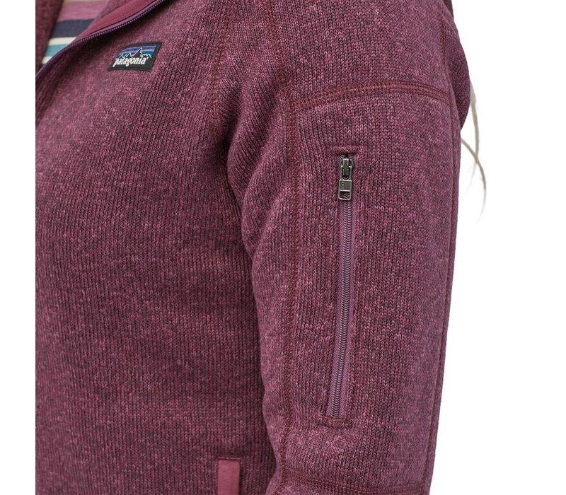 Patagonia W's Better Sweater Hoody Light Balsamic