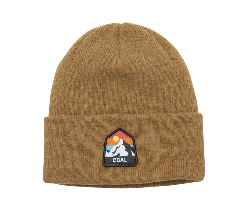 Coal The Peak Beanie Heather Mustard