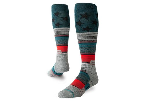 Stance Stance Star Fade Green Large