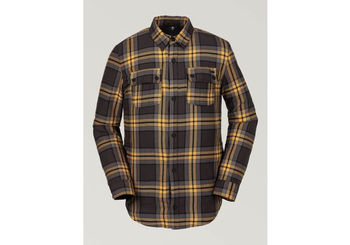 Volcom Volcom Sherpa Flannel Jacket Vintage Black