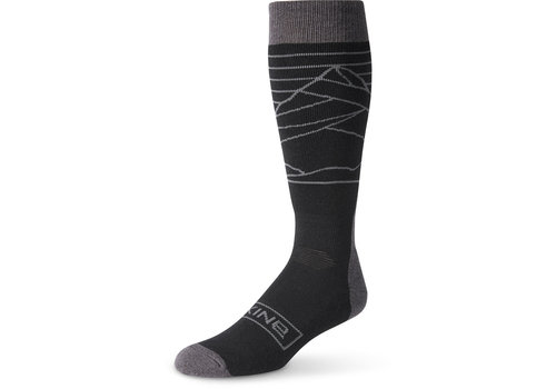 Dakine Dakine Mens Summit Sock Black/Charcoal