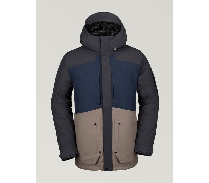 Volcom Scortch Insulated Jacket Navy