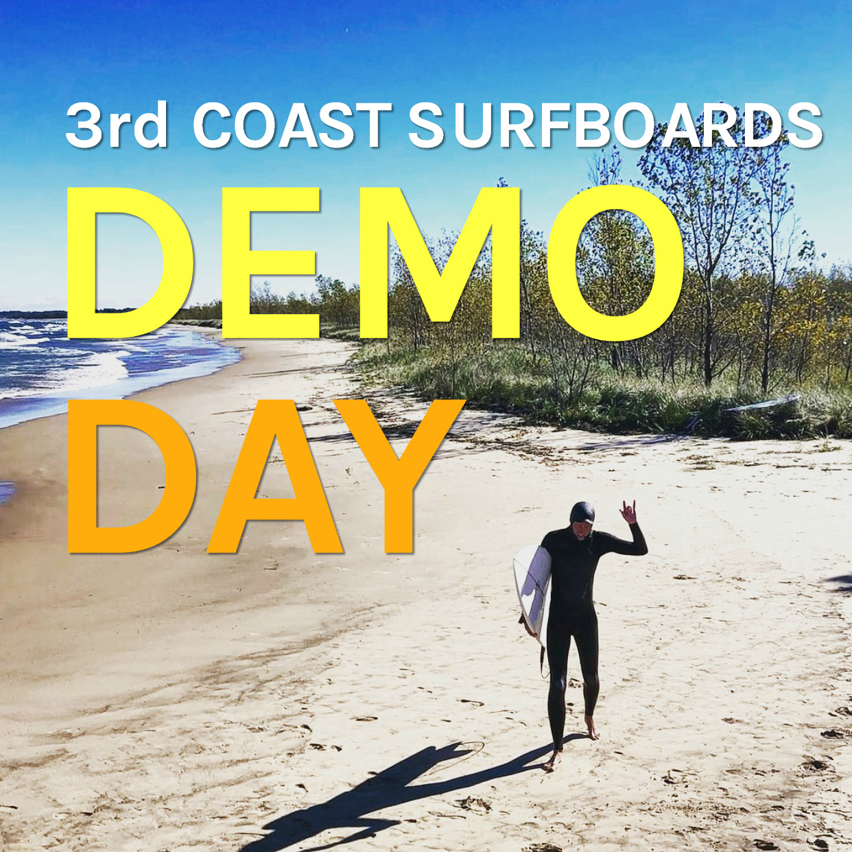 3rd Coast Surfboards Demo Day