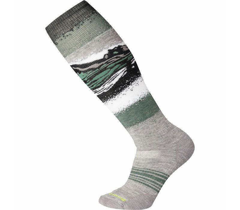 SmartWool PhD Snow Medium Light Gray Large