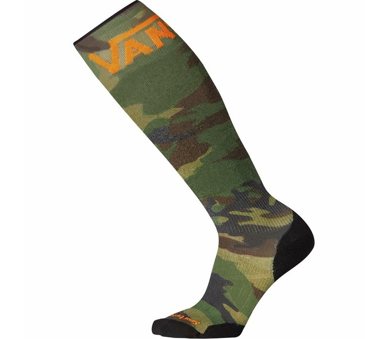 SmartWool PhD Snow VANS Woodland Camo Print Large