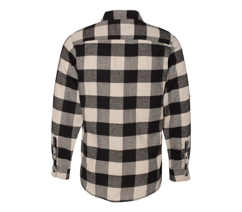 Third Coast Buffalo Plaid Flannel Black White
