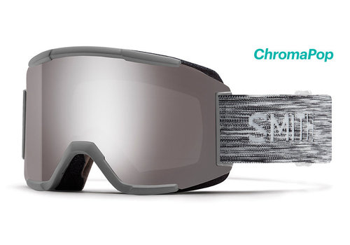 Smith Smith Squad Goggle Cloudgrey Chromapop Storm Rose