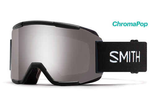 Smith Smith Squad Goggle Black Chromapop Sun Platinum Mirror