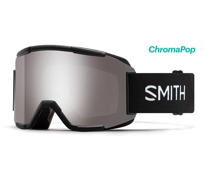 Smith Squad Goggle Black Chromapop Sun Platinum Mirror