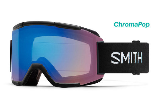 Smith Smith Squad Goggle Black Chromapop Storm Rose Flash