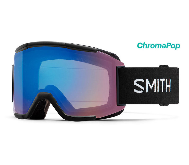 Smith Squad Goggle Black Chromapop Storm Rose Flash