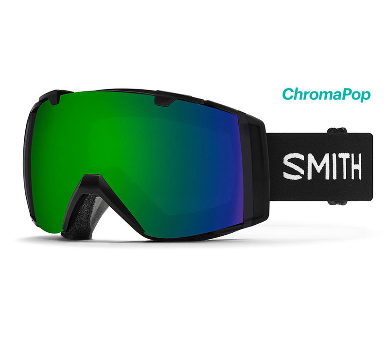 Smith IO Goggle Cloudgrey Chromapop Sun Green Mirror