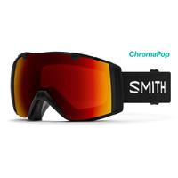 Smith IO Goggle Black Chromapop Sun Red Mirror