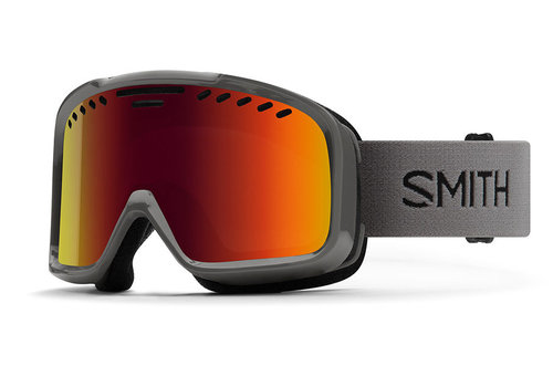 Smith Smith Project Goggle Charcoal Red Sol-X Mirror