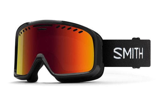 Smith Smith Project Goggle Black Red Sol-X Mirror