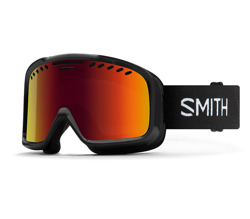 Smith Project Goggle Black Red Sol-X Mirror