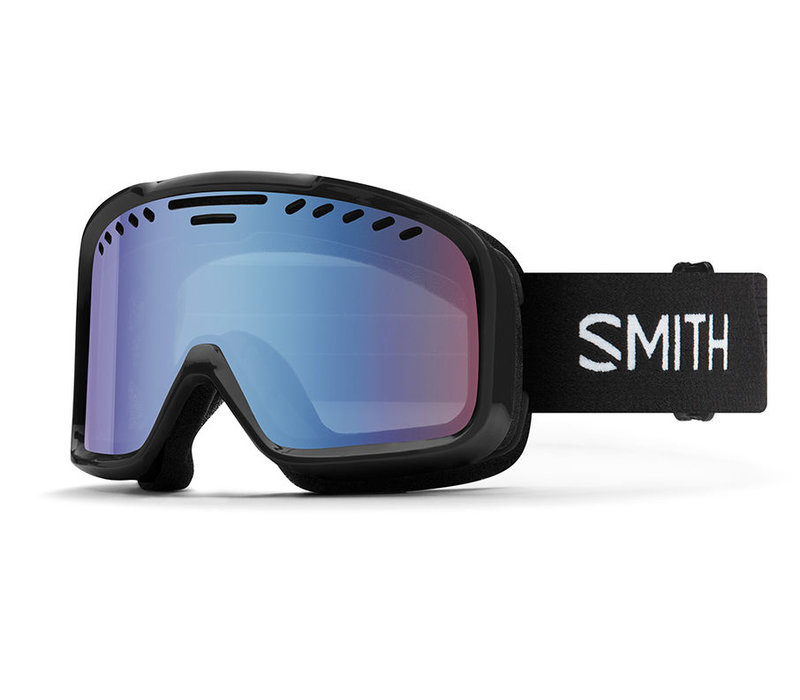 Smith Project Goggle Black Blue Sensor Mirror