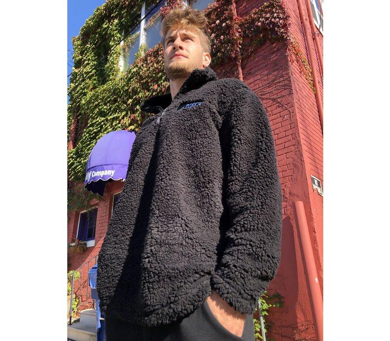 Third Coast Sherpa Fleece 1/4 Zip Pullover Black