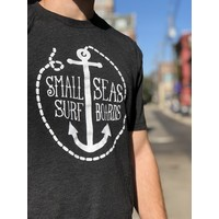 Small Seas Surfboards Anchor Tee