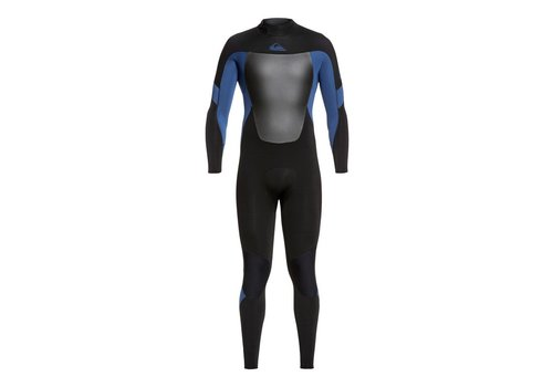 Quiksilver Quiksilver Syncro 3/2 Back Zip Black/Blue/Black