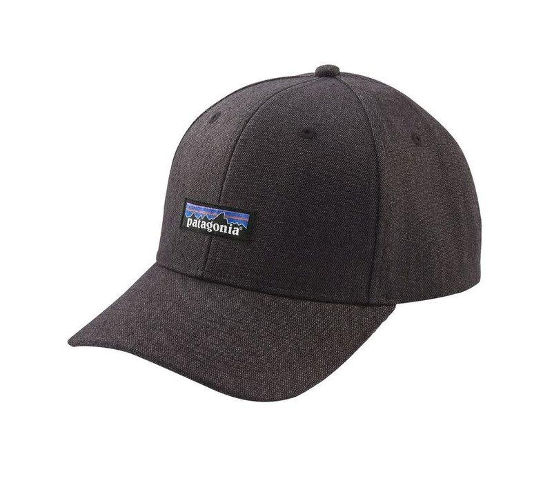 Patagonia Tin Shed Hat P-6 Logo: Ink Black