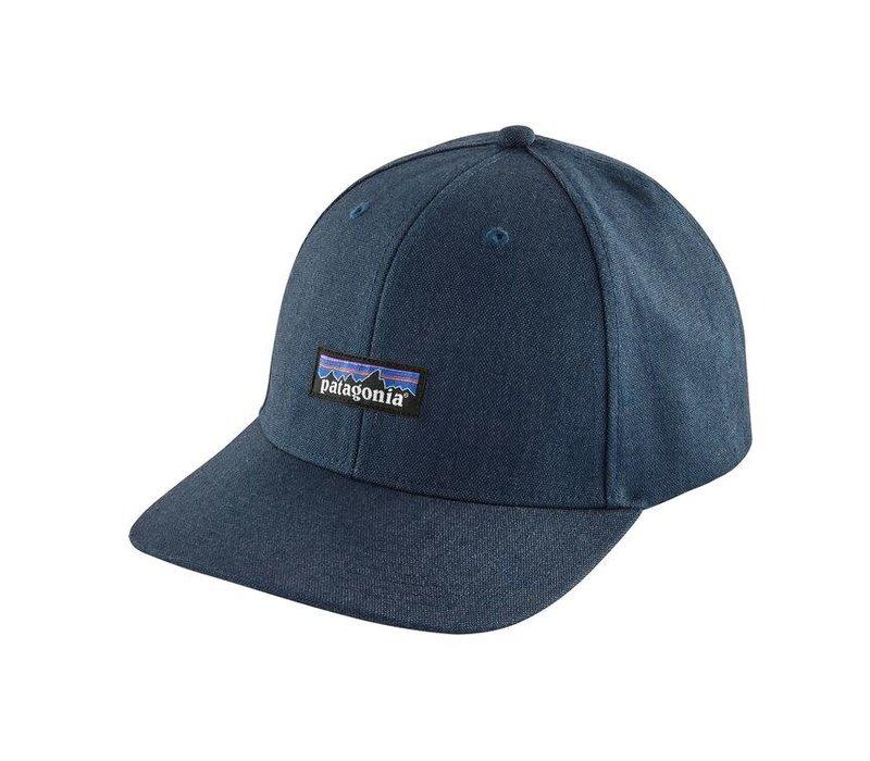 Patagonia Tin Shed Hat P-6 Logo: Stone Blue