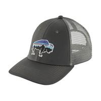Patagonia Fitz Roy Bison LoPro Trucker Hat Forge Grey