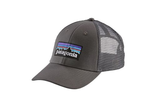 Patagonia Patagonia P-6 Logo Lopro Trucker Hat Forge Grey w/Forge Grey