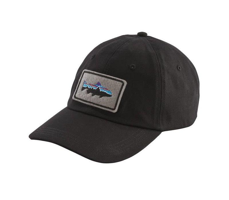 Patagonia Fitz Roy Trout Patch Trad Cap Black