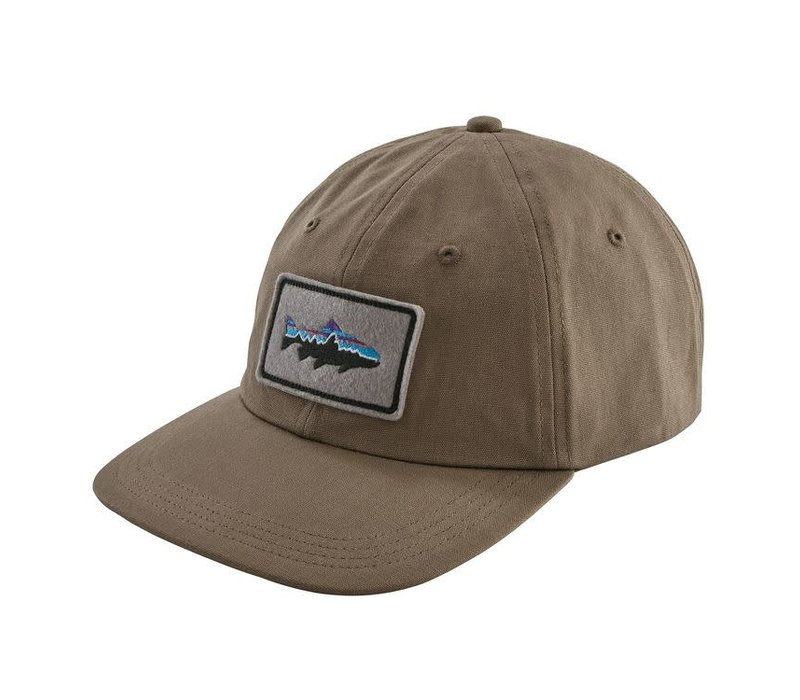 Patagonia Fitz Roy Trout Patch Trad Cap Burnie Brown