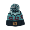 Third Coast Third Coast Fairisle Knit Beanie Teal