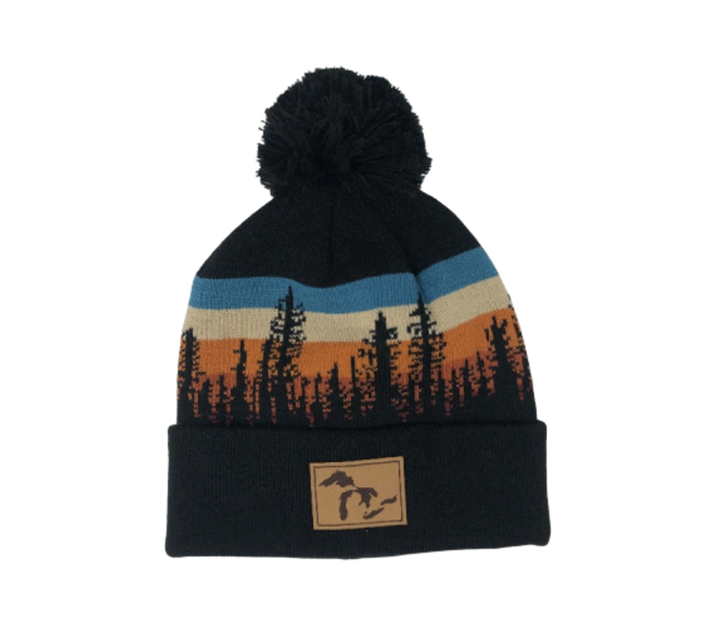 Third Coast Lodgepole Beanie Black