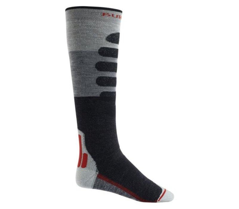 Burton Performance + Midweight Sock Gray Heather
