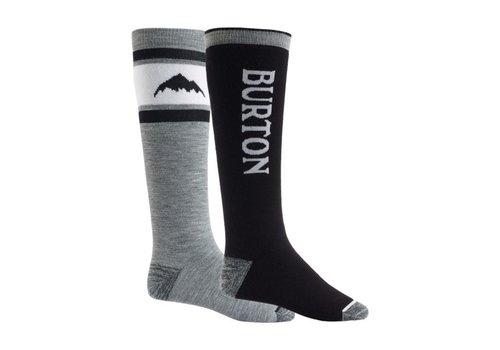 Burton Burton Weekend Midweight Sock 2-Pack True Black