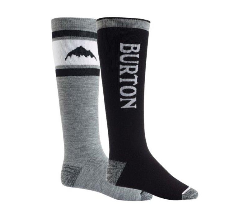 Burton Weekend Midweight Sock 2-Pack True Black