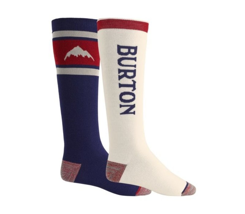 Burton Weekend Midweight Sock 2-Pack Mood Indigo