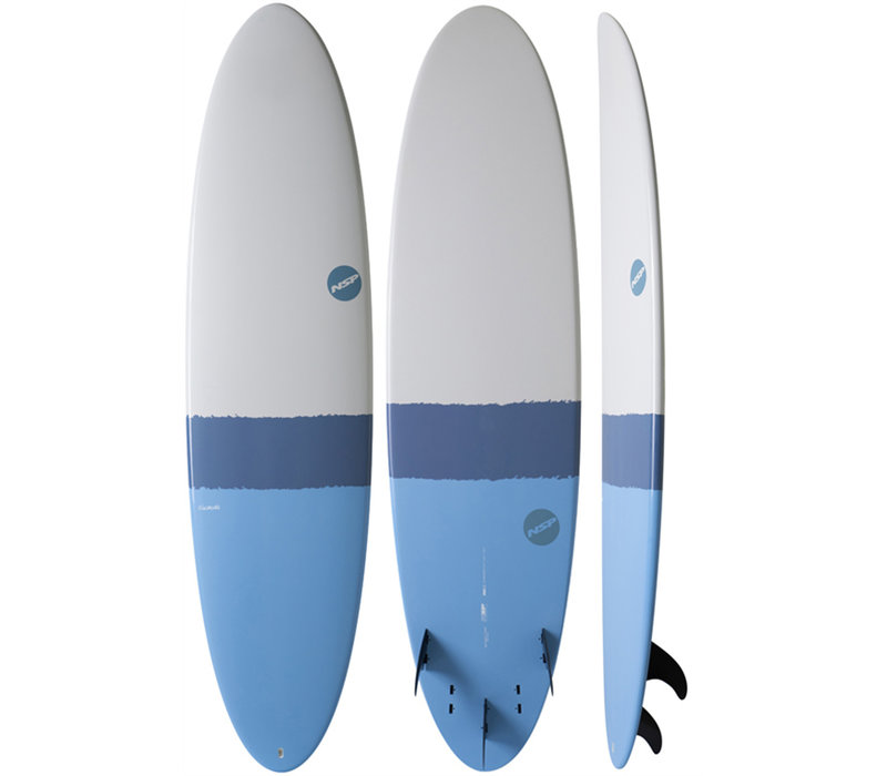 NSP Elements HDT Fun 6'8 Sky Blue
