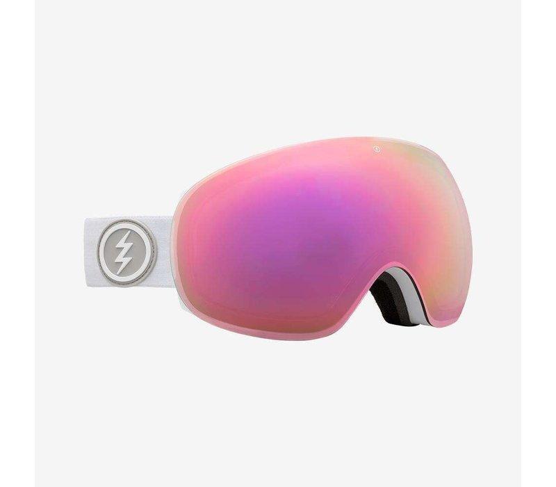 Electric EG3 Matte White - Brose/Pink Chrome