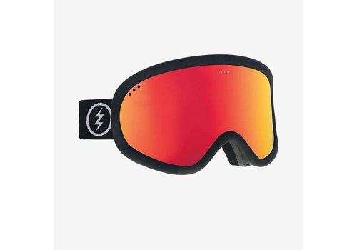 Electric Sunglasses Electric Charger XL Matte Black Brose/Red Chrome